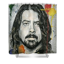 Good Dave Shower Curtain by Nate Michaels