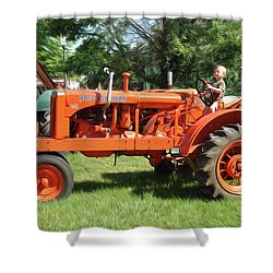 Good Day On The Farm Shower Curtain