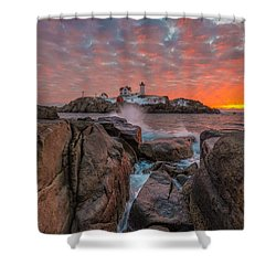 Good Day Sunshine Shower Curtain