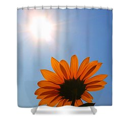 Shower Curtain featuring the photograph Good Day Sunshine by Jesse Ciazza