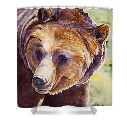 Good Day Sunshine - Grizzly Bear Shower Curtain
