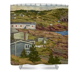 Good Dry Day Shower Curtain