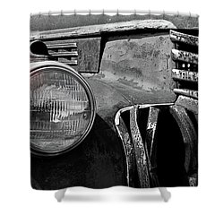 Shower Curtain featuring the photograph Good Eye by Christopher McKenzie