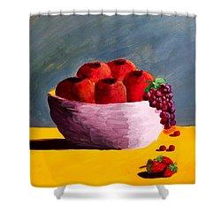 Good Fruit Shower Curtain