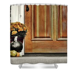 Good Gourds Shower Curtain by JAMART Photography