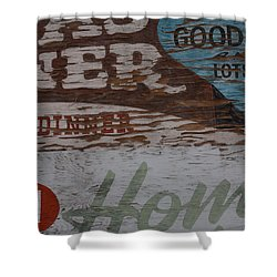 Good Home Food Shower Curtain
