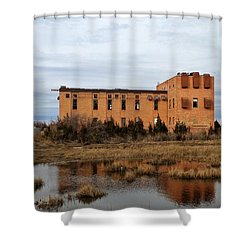 Good Luck Point Shower Curtain