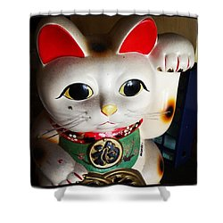 Shower Curtain featuring the photograph Good Meowning. #myfab5 by Mr Photojimsf