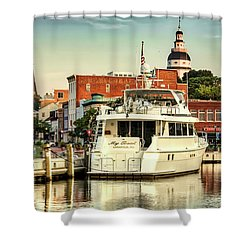 Good Morning Annapolis Shower Curtain