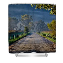 Good Morning Cades Cove 3 Shower Curtain