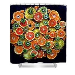 Good Morning Fruit Shower Curtain