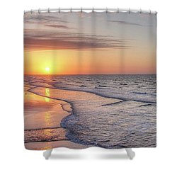 Good Morning Grand Strand Shower Curtain