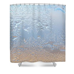 Good Morning Ice Shower Curtain