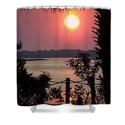 Good Morning Shower Curtain by Karen Wiles