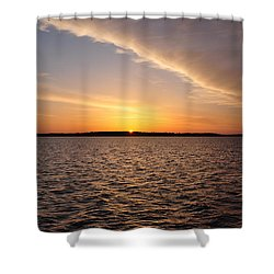 Good Morning Sunshine Shower Curtain by Bill Cannon