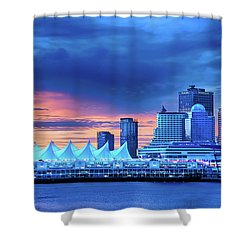 Shower Curtain featuring the photograph Good Morning Vancouver by John Poon