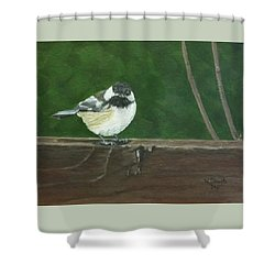 Good Morning Shower Curtain by Wendy Shoults