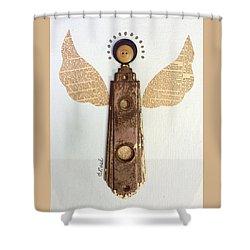 Good News Angel Shower Curtain