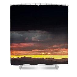 Good Night Colorado Shower Curtain