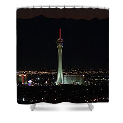 Shower Curtain featuring the photograph Good Night by Michael Rogers