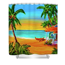 Good Old Days #400 Shower Curtain by Donald k Hall