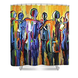 Good People Beach Shower Curtain
