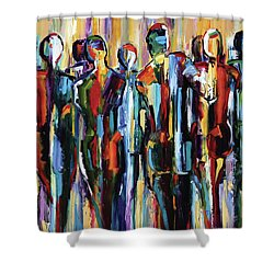Good People, The Wanderers, Pure Justus Collection Shower Curtain