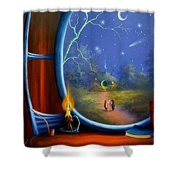 Good To Be Home Shower Curtain