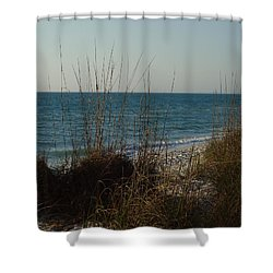 Shower Curtain featuring the photograph Goodbye Cruel World by Robert Margetts
