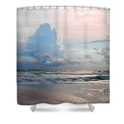 Goodbye Storm Shower Curtain