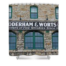 Gooderham And Worts Distillery Shower Curtain