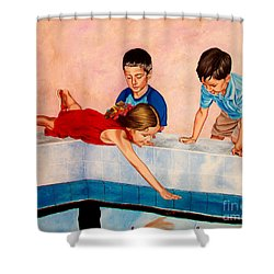 Goodfellas - Buenos Companeros Shower Curtain