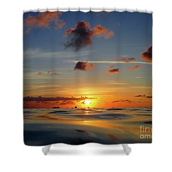 Goodnight Cayman Shower Curtain