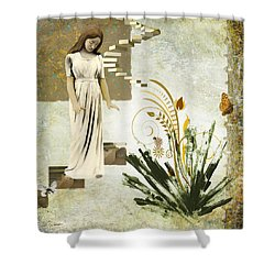 Goodnight Irene Shower Curtain by Van Renselar