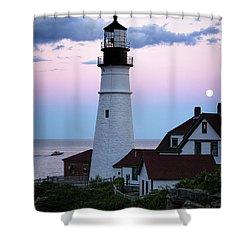 Goodnight Moon, Goodnight Lighthouse  -98588 Shower Curtain