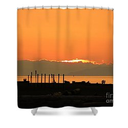 Goodnight Sun Shower Curtain