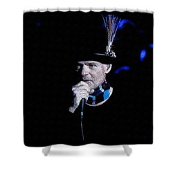 Gord Downie In Concert Shower Curtain