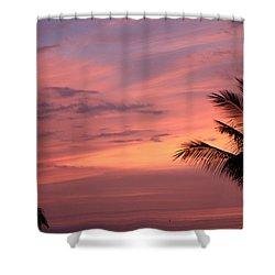 Gorgeous Hawaiian Sunset - 3 Shower Curtain by Karen Nicholson