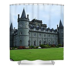 Gorgeous View Of Inveraray Castle Shower Curtain