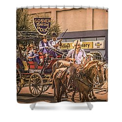 Goshen Mounted Police Shower Curtain