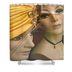 Gossip Girls Shower Curtain by Trish Hale