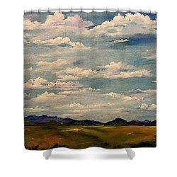 Got Clouds Shower Curtain