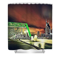 Gotham Calling Shower Curtain