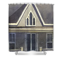 Gothic American, New Harmony, In Shower Curtain