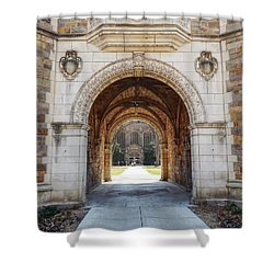 Gothic Archway Photography Shower Curtain