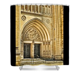 Gothic Entry Shower Curtain