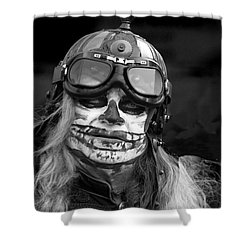 Gothic Warrior Shower Curtain