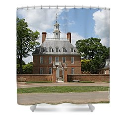 Governers Palace - Williamsburg Va Shower Curtain