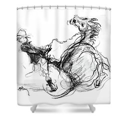 Government Horse Shower Curtain