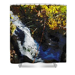 Governor Dodge State Park Shower Curtain by David Blank